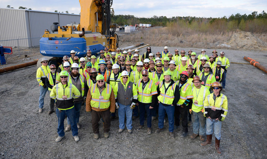 Field Crew at Annual Safety Meeting